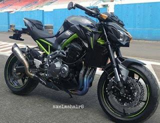 cara kredit motor terbaru Kawasaki Z900