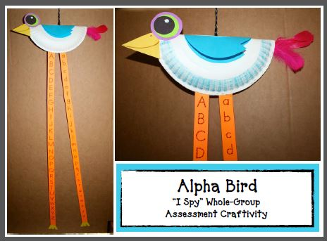 https://www.teacherspayteachers.com/Product/Alpha-Bird-Craftivity-A-Letter-Assessment-Game-1900310