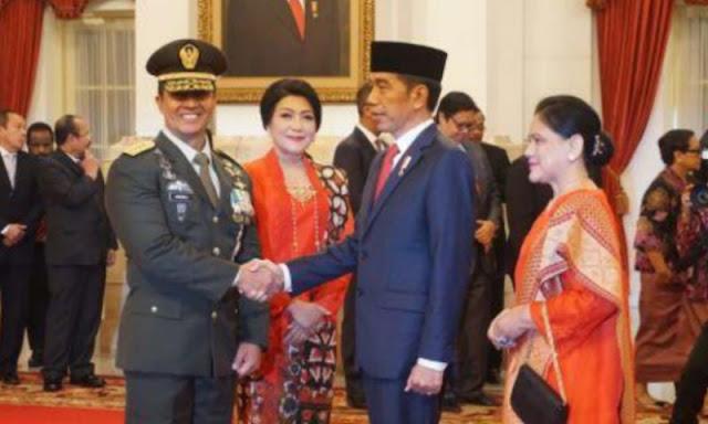 Gegara Andika Bilang Ini, Netizen: KSAD Itu Mengabdi pada Nusa dan Bangsa, Bukan pada Presiden
