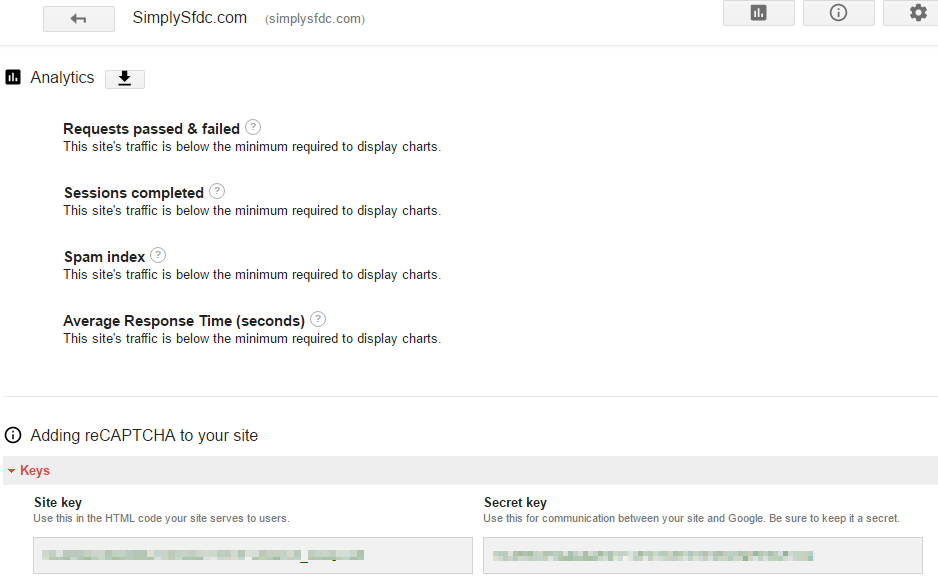 SimplySfdc com: Salesforce Web-to-Lead with Enable spam filtering