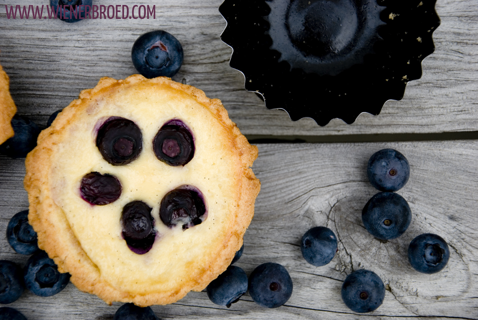 Finnische Blaubeer-Tarte / Finnish Blueberry Pie / Mustikkapiirakka [wienerbroed.com]
