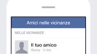 """Come funziona """"Amici nelle vicinanze"""" su Facebook"""