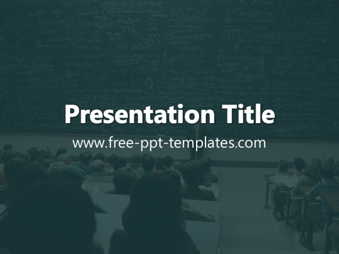 college ppt template