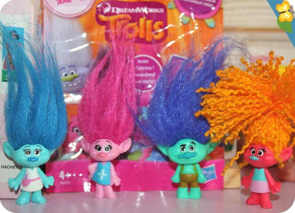 Figurines Trolls