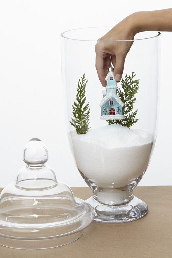 Decoração de Natal: idéias rápidas pra casa toda. Faça você Mesma. Achados de Decoração