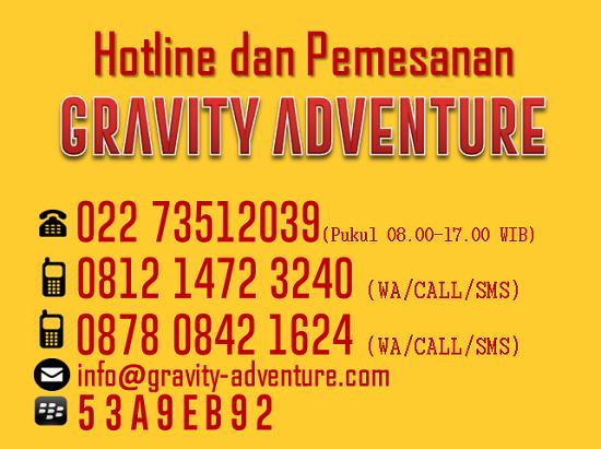 Arung Jeram Bandung Gravity Adventure