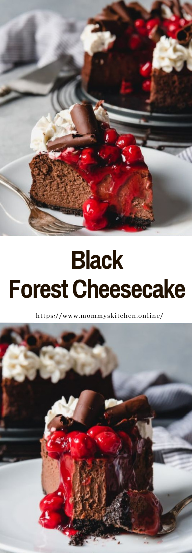 Black Forest Cheesecake #desserts #easy