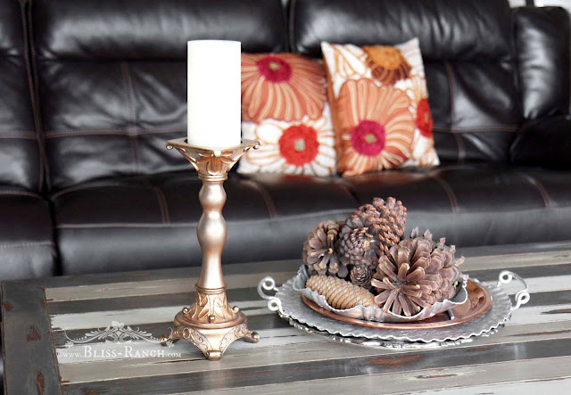 Fusion Mineral Paint candlestick Bliss Ranch