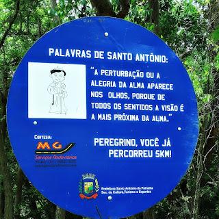 Placa de Cinco Quilômetros - Caminho de Santiago, Santo Antônio da Patrulha