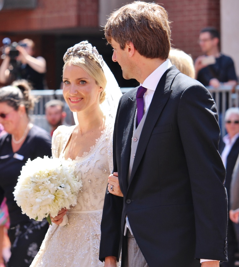Royal Wedding In Hanover: The Bridal Couple
