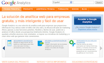Analizar tu sitio web con Google Analitycs
