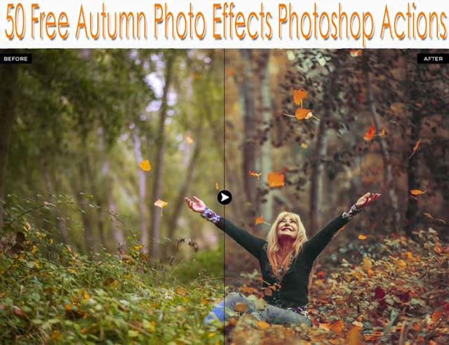Autumn Photoshop Actions