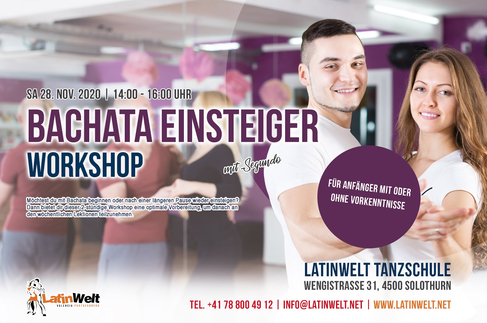 Bachata Einsteiger Workshop