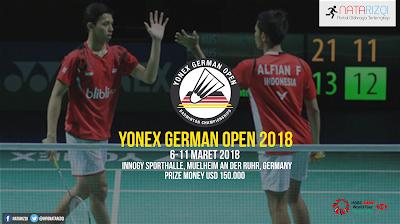 Jadwal Yonex German Open 2018
