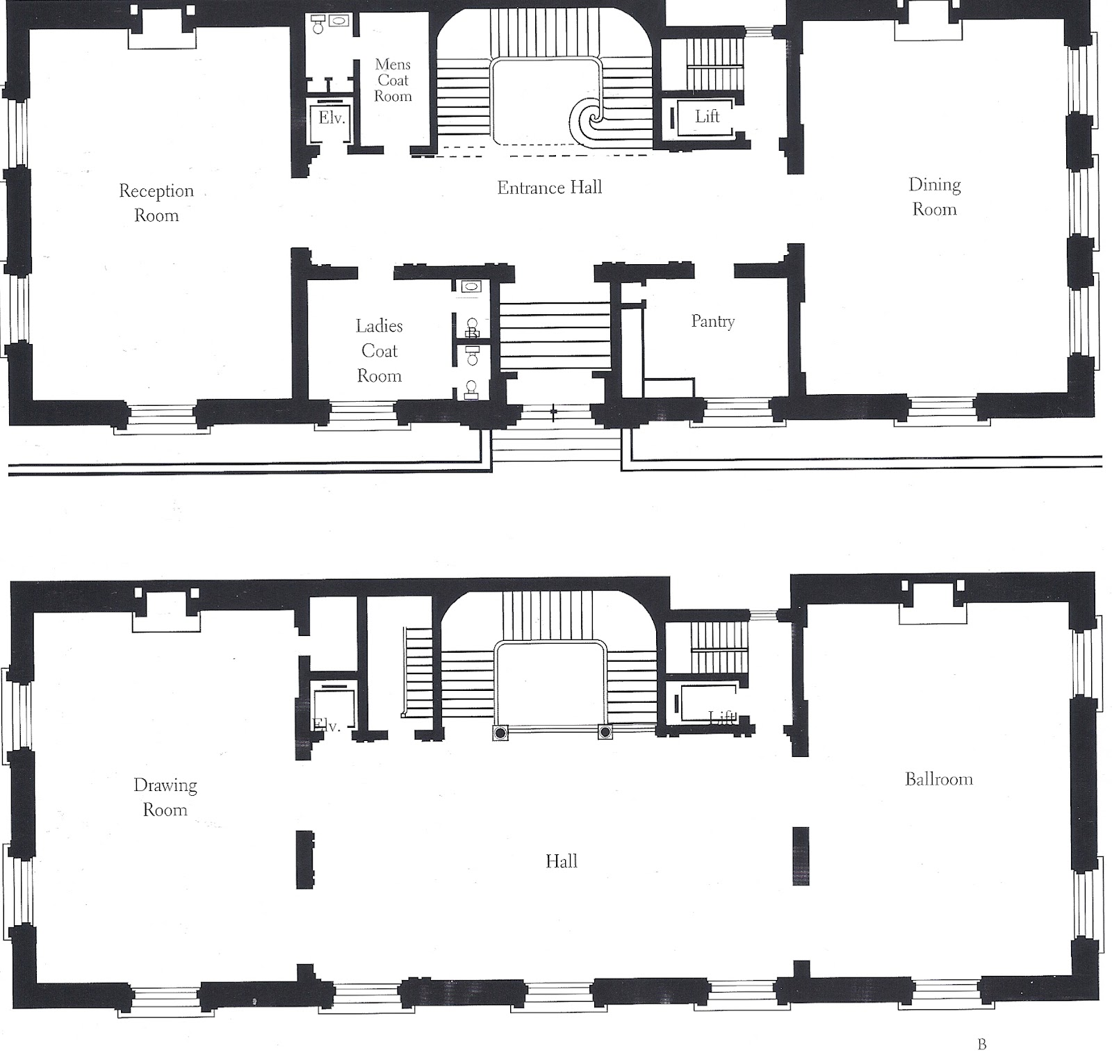 Mansion Floor Plans: The Gilded Age Era: George J Gould Mansion Fifth Avenue