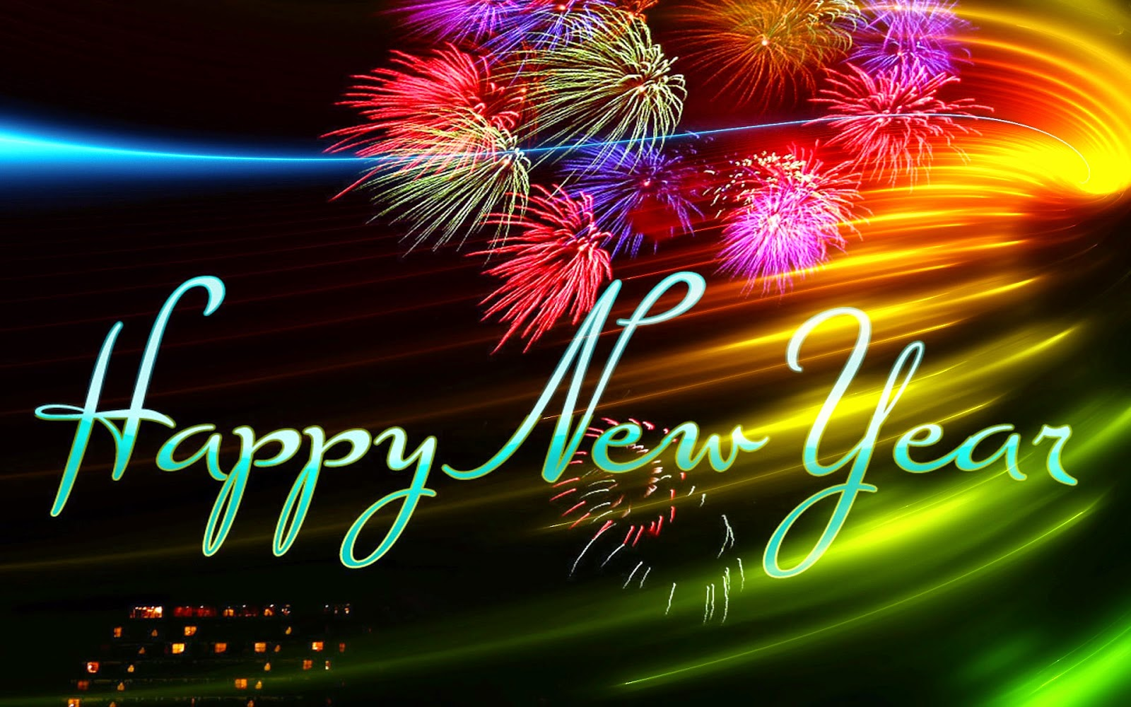 Happy New Year 2016 Facebook Cover Images HD Download