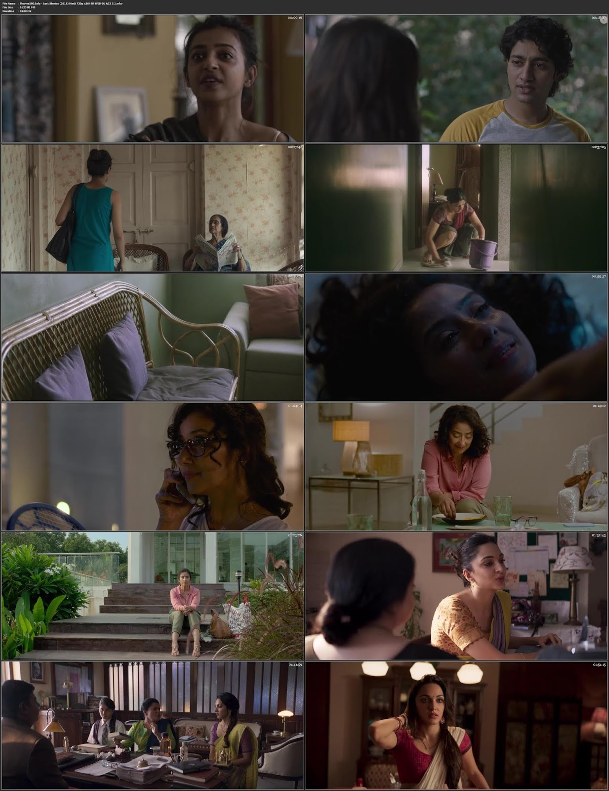 Lust Stories 2018 Bollywood 300MB UNRATED WEBHD 480p