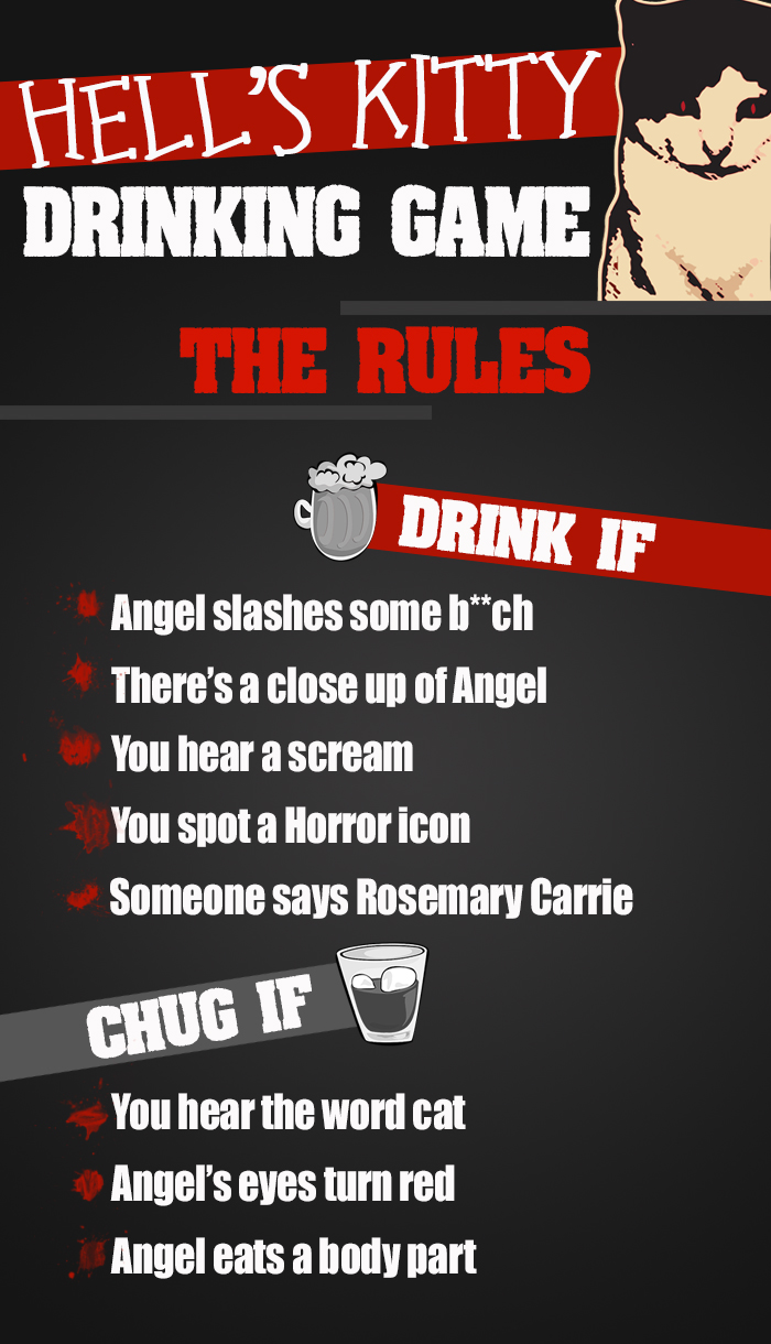 hell's kitty drinking game