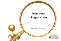 Prepare well for your next interview.
