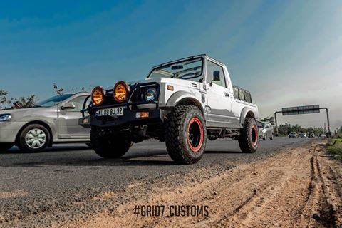 Grid7 customs Maruti Gypsy