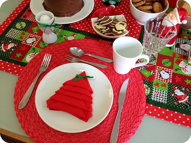 Decoração Café da Manhã Natalino