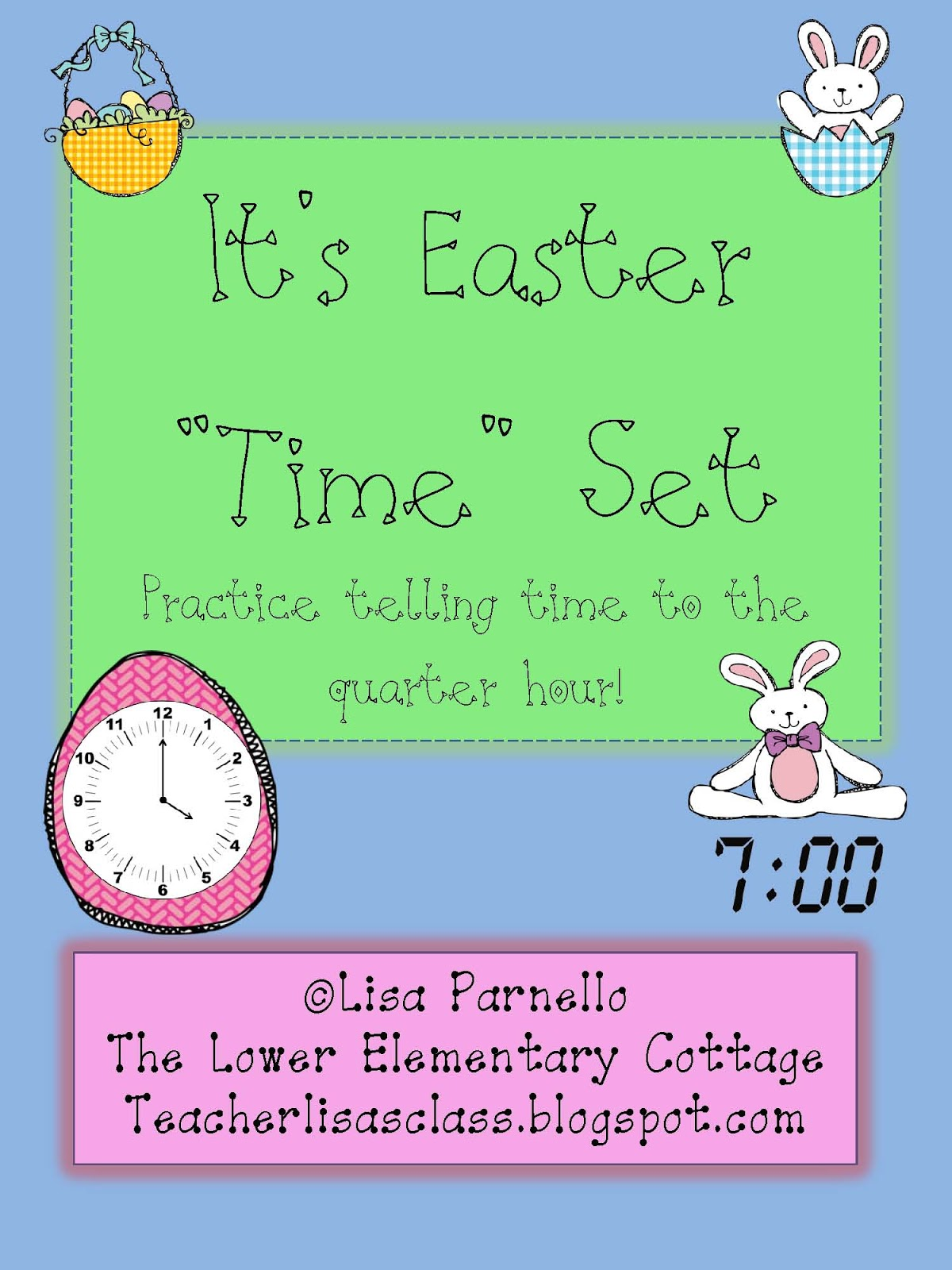 The Lower Elementary Cottage Easter Time Complete Set