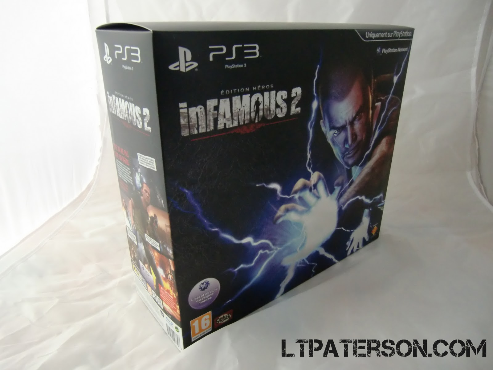 Déballage inFamous 2 Hero Edition | Ltpaterson.com Blog ...