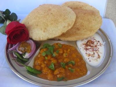 Imperial Inn - Chole Bhature (veg)
