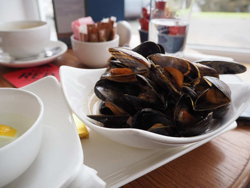 Mussels at the Uig Hotel