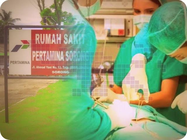 RS Pertamina Sorong Operasi 2 Pasien Tumor dari Teluk Wondama