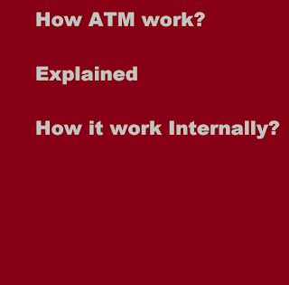 How ATM work internally fully explained