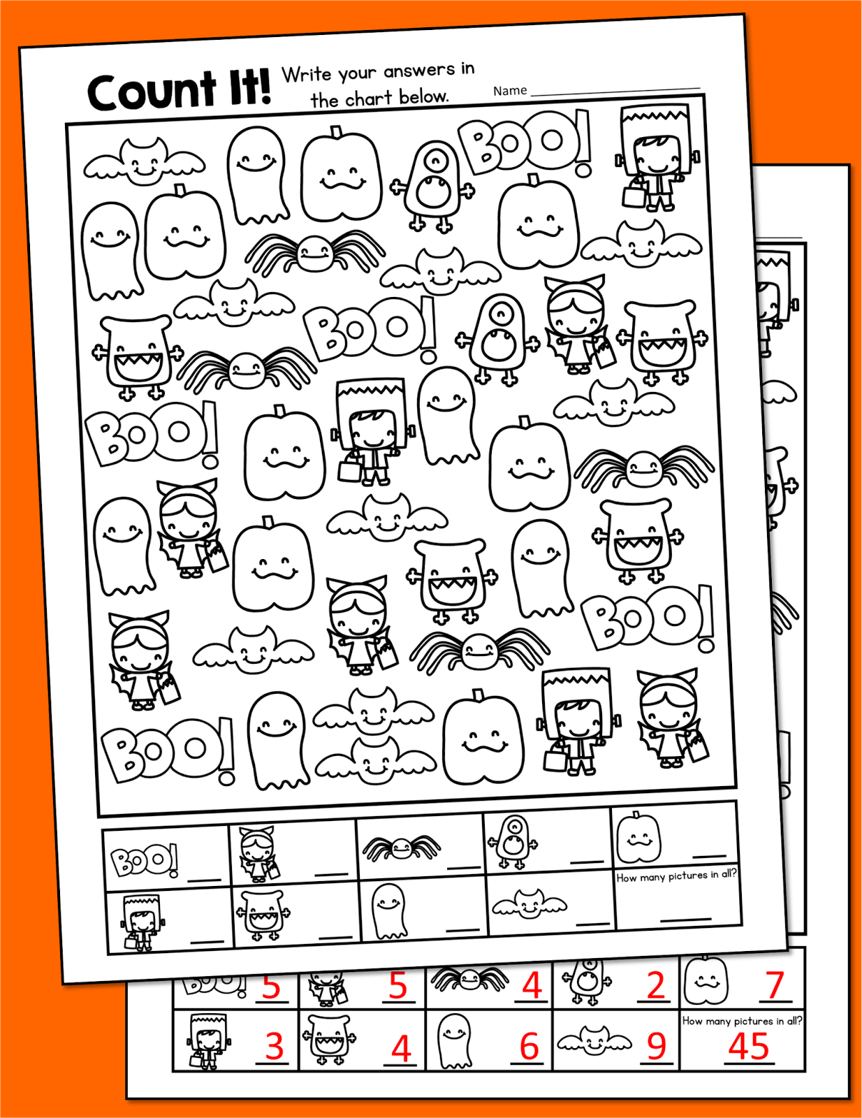 Free Printable Halloween Activities First Grade