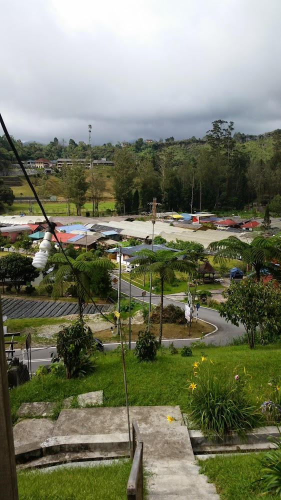 Pemandangan Kampung Taman Sedia