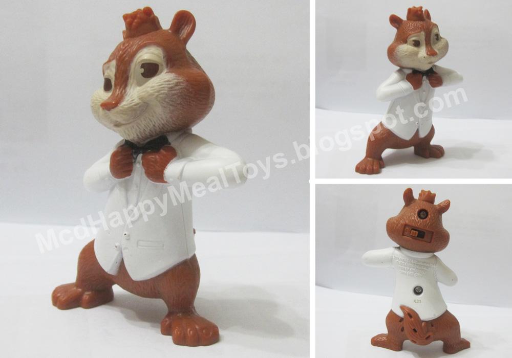 Alvin 46 the chipmunks toys piece