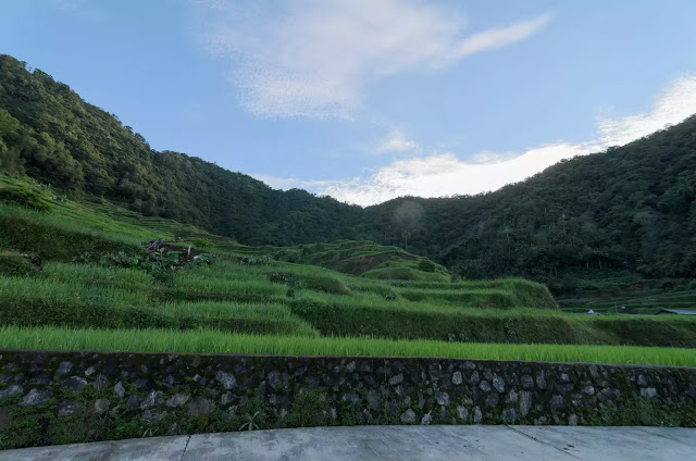 Views Banaue Bangaan Road Ifugao Cordillera Administrative Region Philippines