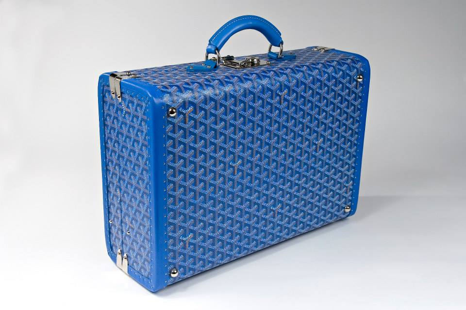 Passion For Luxury Bespoke Trunks from Maison Goyard Paris