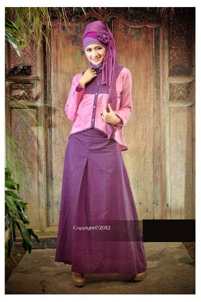 Gaun Pesta Muslim Remaja Modern 2015 The Blouse