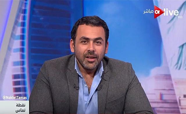 برنامج نقطة تماس 3-2-2018 يوسف الحسينى و بركات الفرا