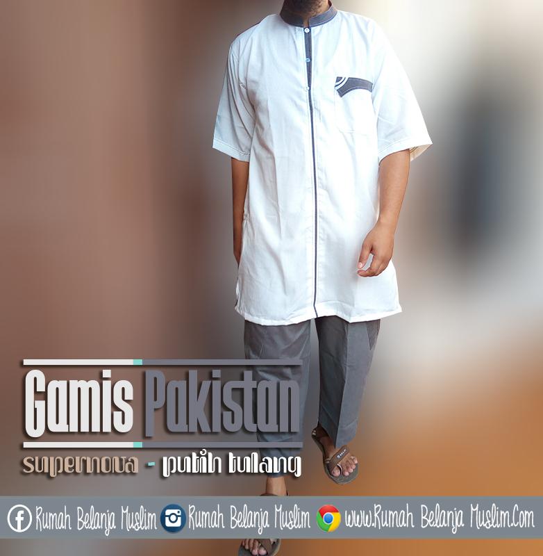 Baju Gamis Pakistan Pria Supernova