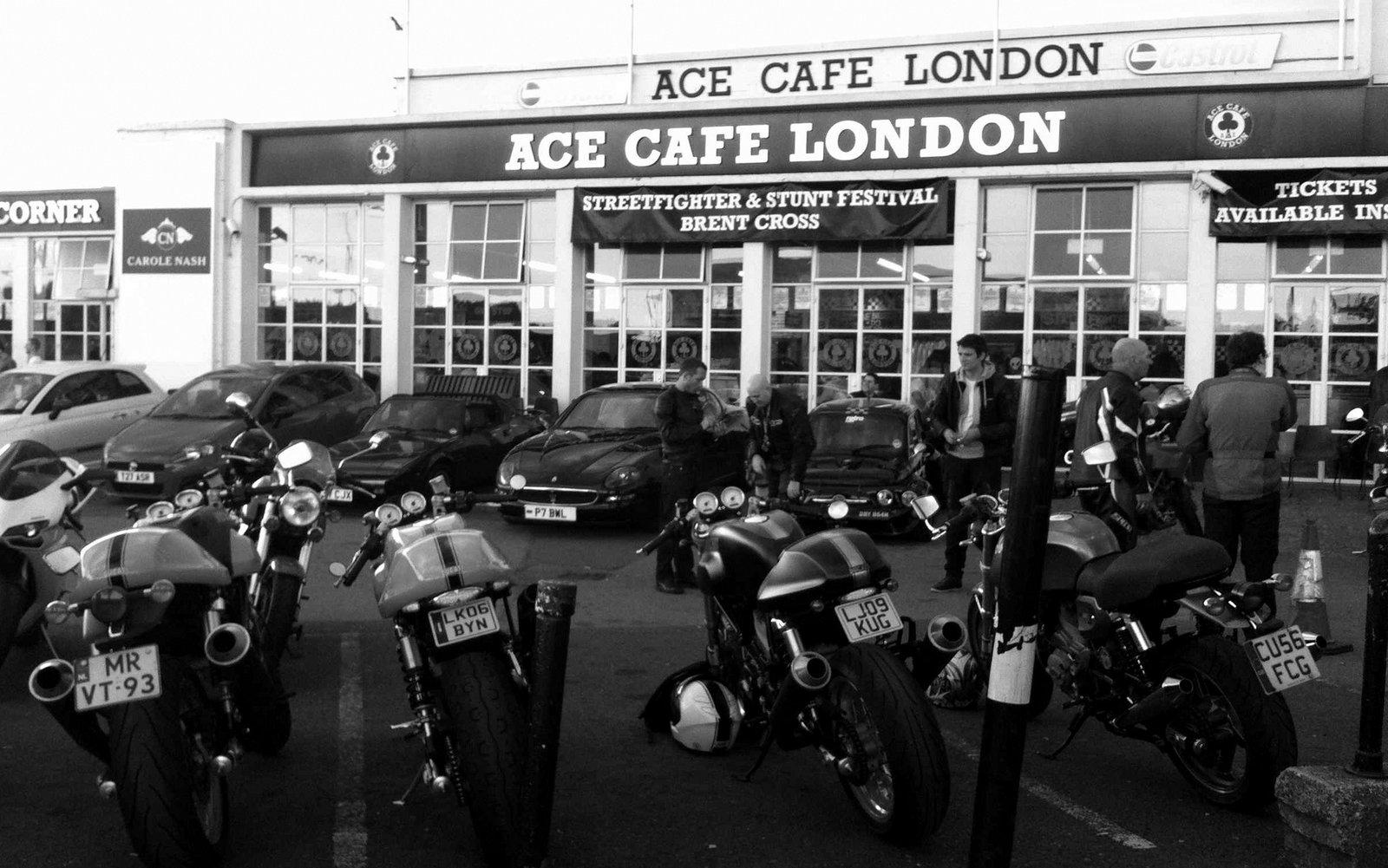 Motorcycle Shop North London
