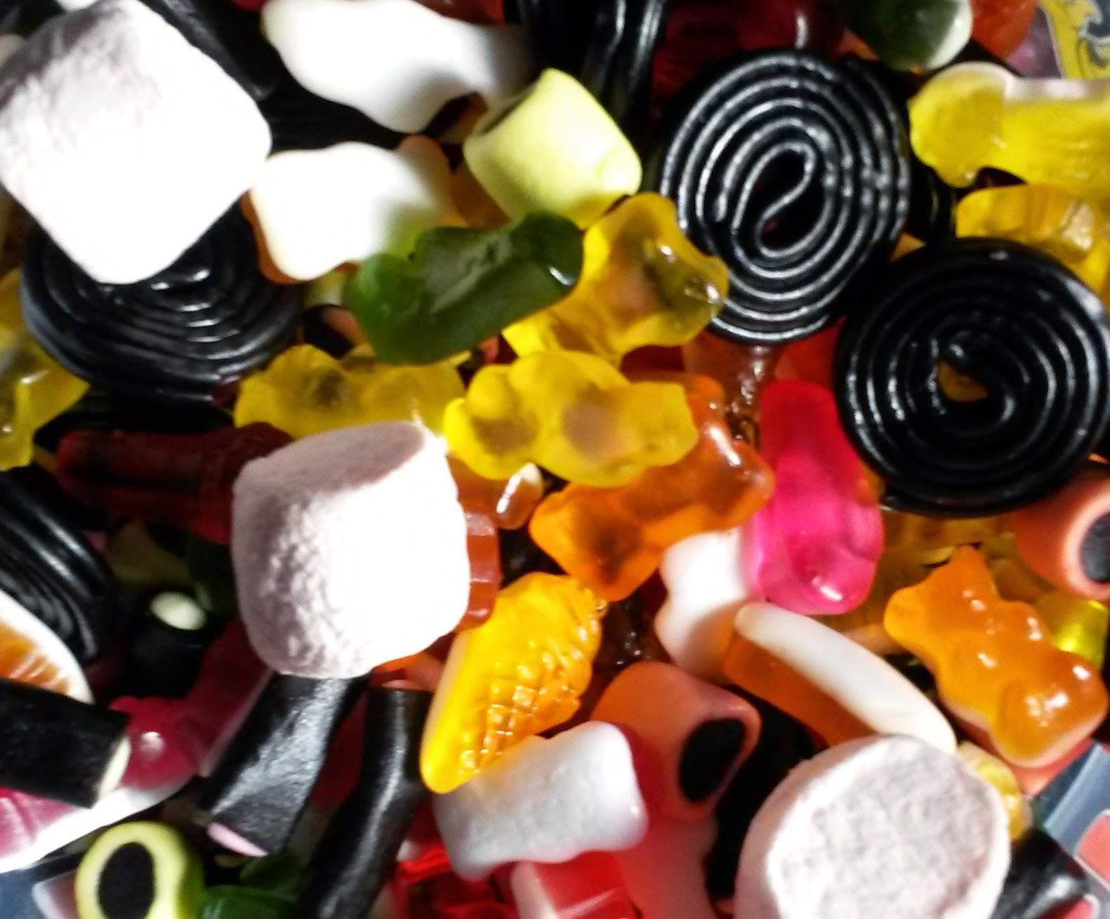 TAG Fall Favorite Things (Ce que je préfère en automne) bonbons