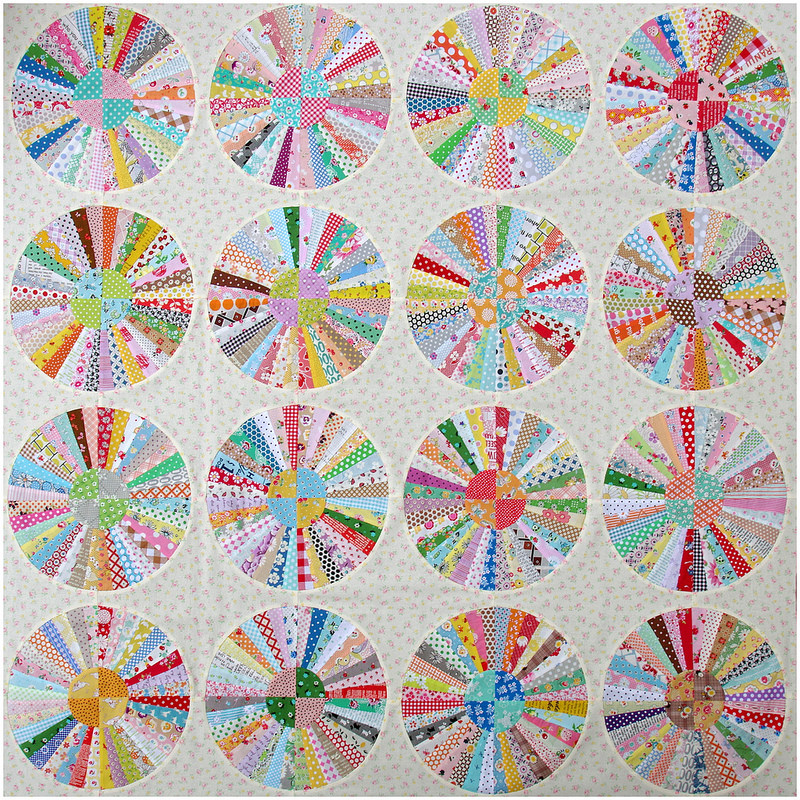 Carousel Quilt Work In Progress Part 2 Red Pepper Quilts