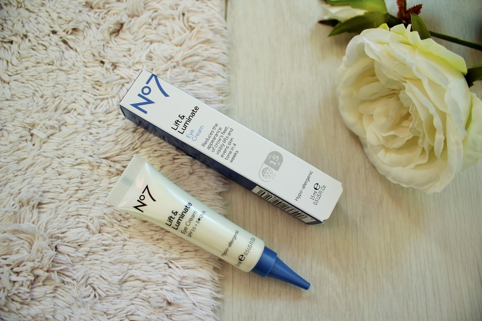 No7 Lift & Luminate Triple Action Range - First Impressions and Giveaway 6