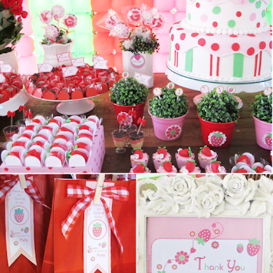 A Strawberry Shortcake Joint Birthday Party