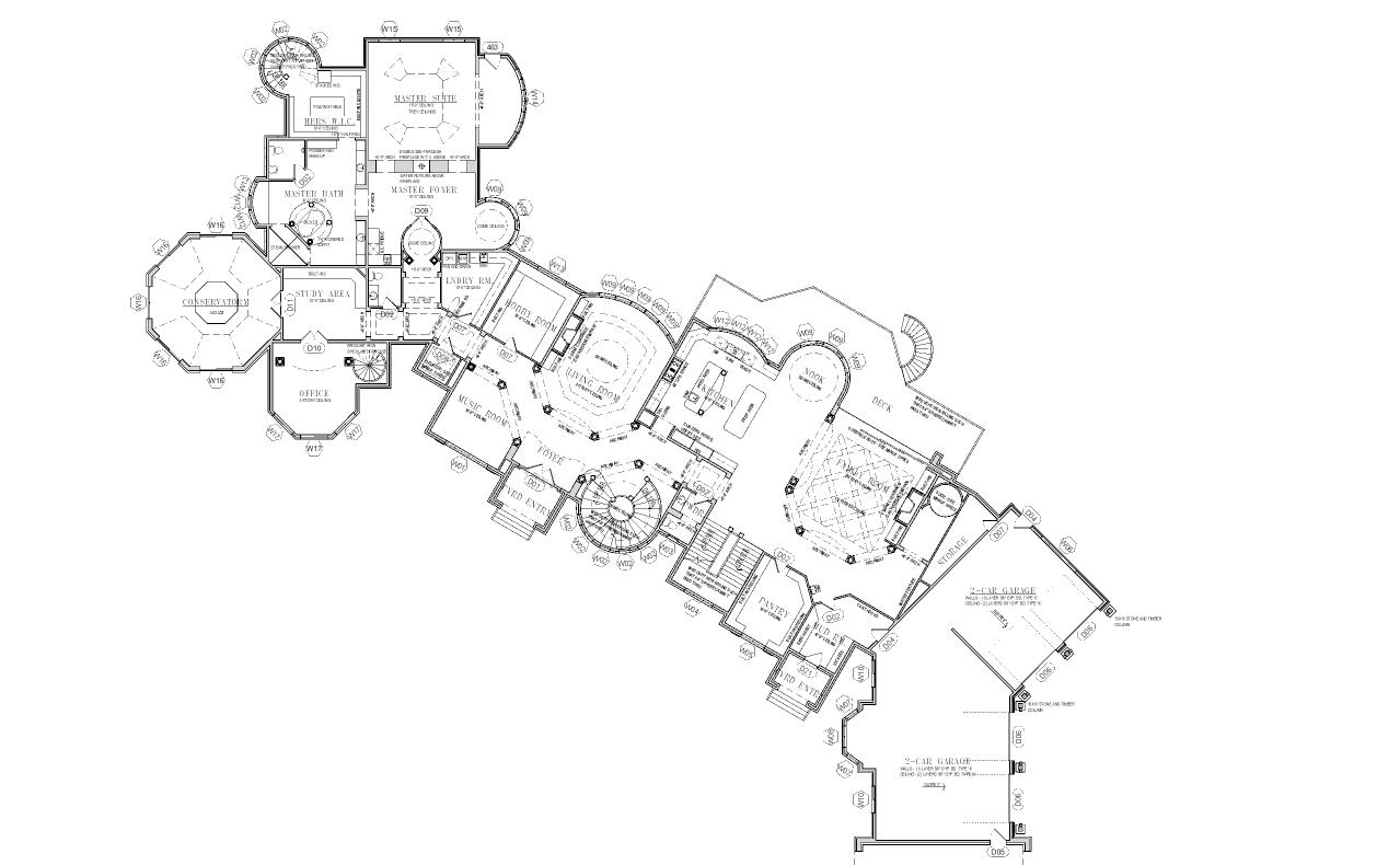 Powder Room Floor Plan Mansions Amp More Partial Floor Plans I Have Designed