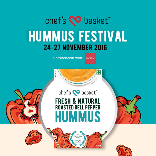 CHEF'S BASKET'S HUMMUS FESTIVAL To give you a drool-worthy weekend!