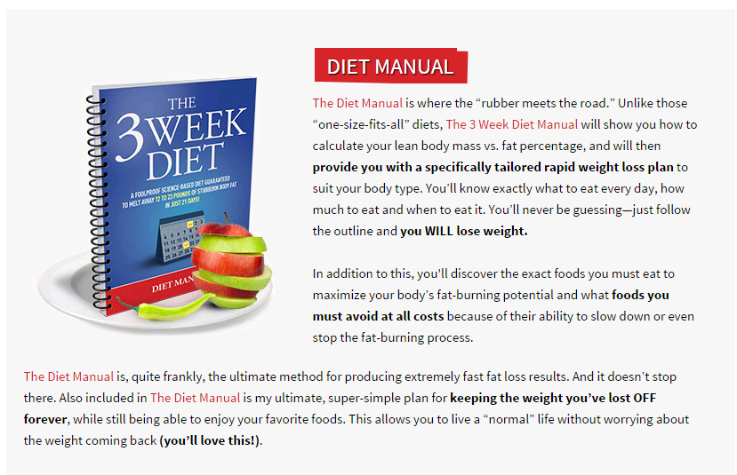 The 3 Week Diet System Reviews