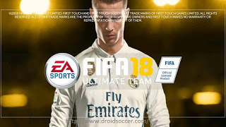 FTS Mod FIFA 18 Ultimate By Iqbal Apk + Obb Data