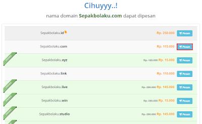 Tutorial Cara Membeli Domain di RumahWeb 3