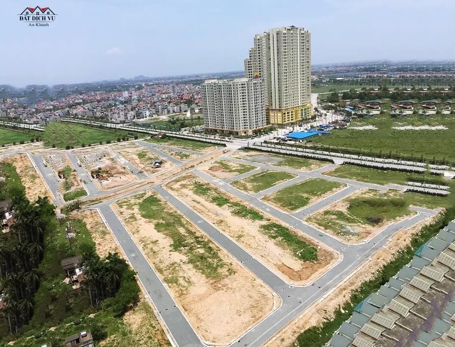 Toàn cảnh dự án đất dịch vụ Nam An Khánh
